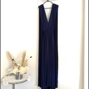 NAVY BLUE INFINITY DRESS - 1 SIZE FIT ALL